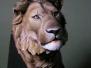 BUSTE LION de Thierry Moulinet