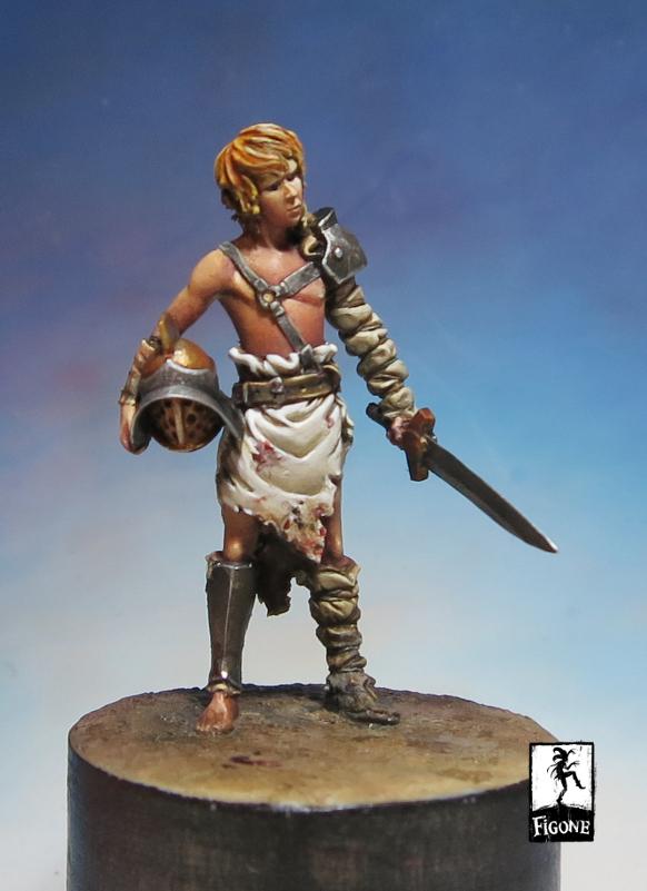 Verus Figone S Newest Kid Gladiator Planetfigure Miniatures