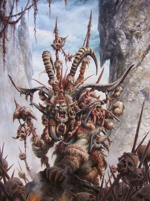 Old blood Shaman orc